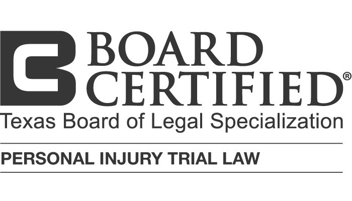 Credential logo for Board Certified in Personal Injury Trial Law - Texas Board of Legal Specialization